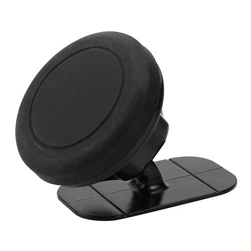 Universal Stick On Dashboard Magnetic Car Mount Holder for Cell Phones and Mini Tablets (Black) (Intl)