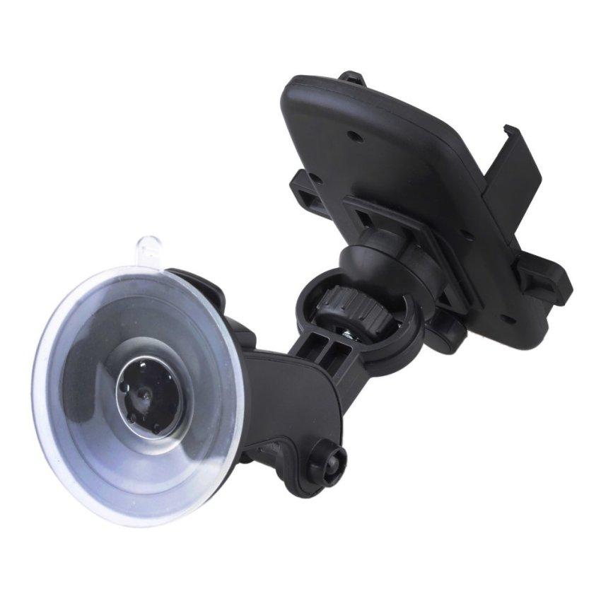 Universal Windshield Dashboard Car Mount Holder for IPHONE 6 / SAMSUNG S6 + More (Black) (Intl)