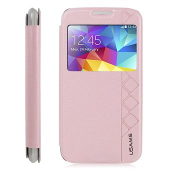 Usams Stand Case Cover Starry Sky Series untuk Samsung S5 - Pink ...