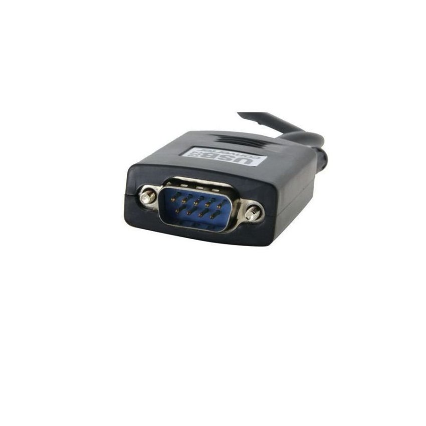 USB to RS232 Serial Port Cable Black