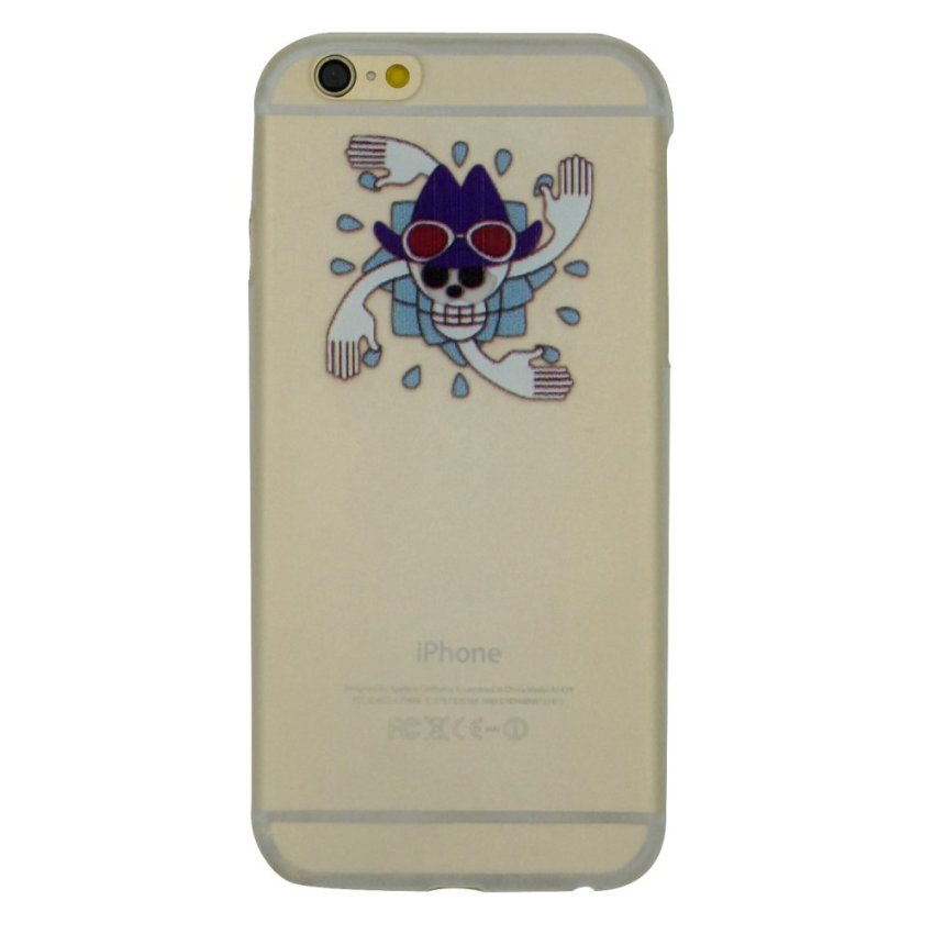 Vanki PC Art Designed Pattern Silicone Back Cover Skin Protector for iPhone 6/6S 4.7 (Multicolor) (Intl)