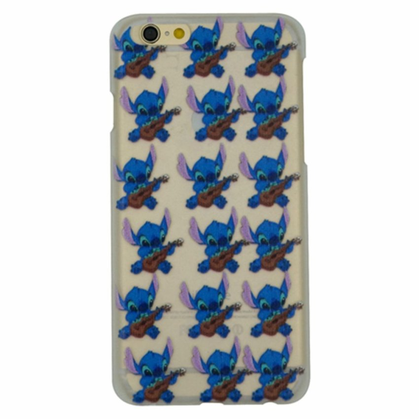 Vanki PC Art Designed Pattern Silicone Back Cover Skin Protector for iPhone6 4.7 (Multicolor) (Intl)