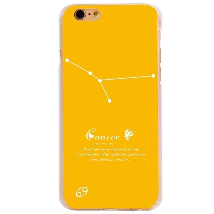 Vanki PC Art Designed Pattern Silicone Back Skin Protector Case for iPhone6 4.7 (Orange) (Intl)