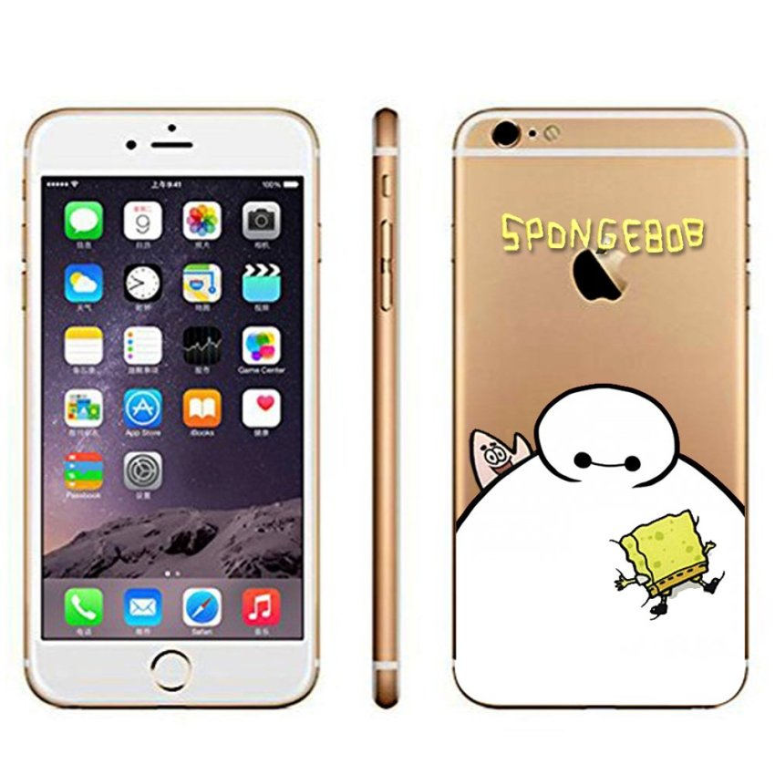 Vanki PC Art Designed Pattern Silicone Case Back Cover Skin Protector for iPhone6 4.7 (Intl)