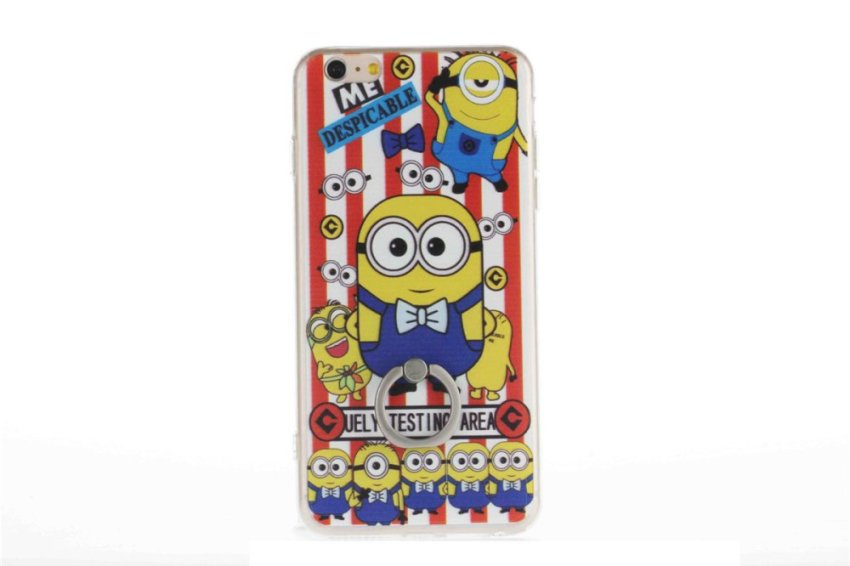 Vanki TPU Art Designed Pattern Silicone Case for iPhone 5 (Multicolor) (Intl)