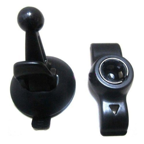 Vehicle Suction Cup Mount & Bracket For Garmin Nuvi 50 50LM GPS Black (Intl)