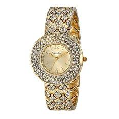 Vernier Paris Women's VNRP11185YG Analog Display Japanese Quartz Gold Watch - Intl