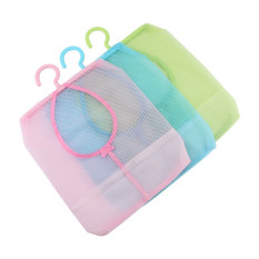 Versatile Kitchen Bathroom Clothesline Storage Hanging Bag Holder (Pink) - Intl
