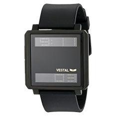 Vestal Unisex TRADR06 Transom Digital Display Quartz Black Watch - Intl