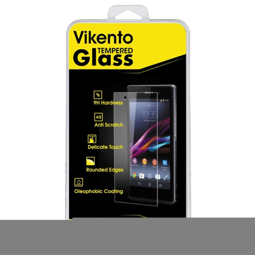 Vikento Glass Tempered Glass Sony Xperia Z4 Depan dan Belakang - Premium Tempered Glass