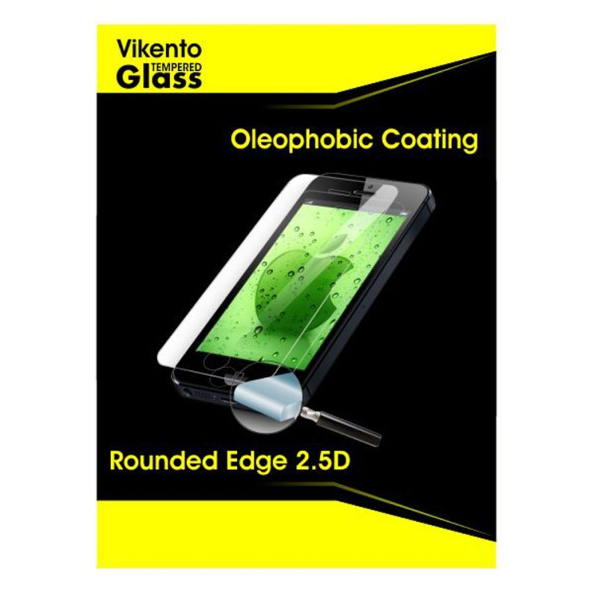 Vikento Glass Tempered Glass Untuk Sony Xperia Z4 Depan dan Belakang - Premium Tempered Glass