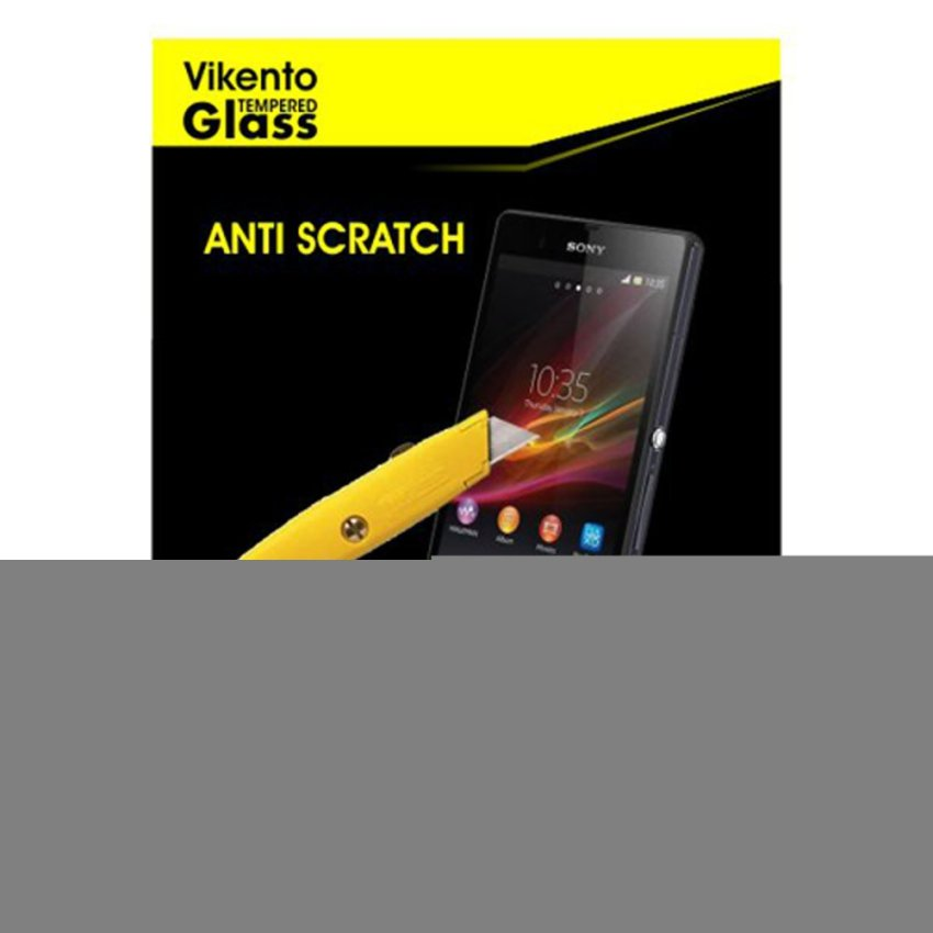 Vikento Glass untuk - Andromax ES - Premium Tempered Glass - Rounded Edge 2.5D