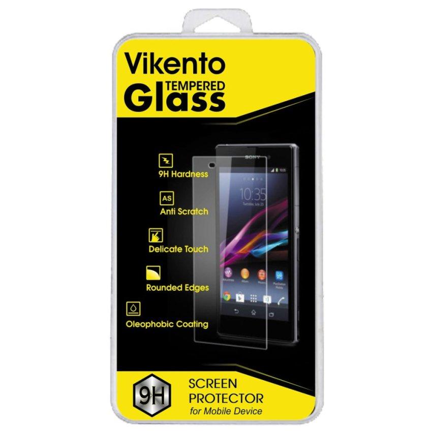 Vikento Glass untuk Nokia XL- Premium Tempered Glass Round Edge 2.5D