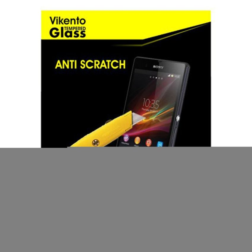 Vikento Tempered Glass Untuk Andromax EC - Premium Tempered Glass - Rounded Edge 2.5D