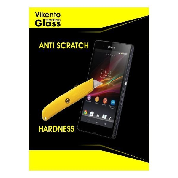 Vikento Tempered Glass Untuk Oppo Find7 / X9007 - Premium Tempered Glass - Anti Gores - Screen Protector