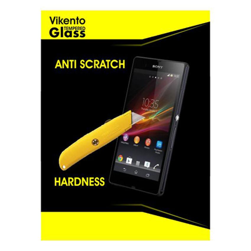 Vikento Tempered Glass Untuk Sony Xperia Z1 / L39H Depan dan Belakang - Premium Tempered Glass