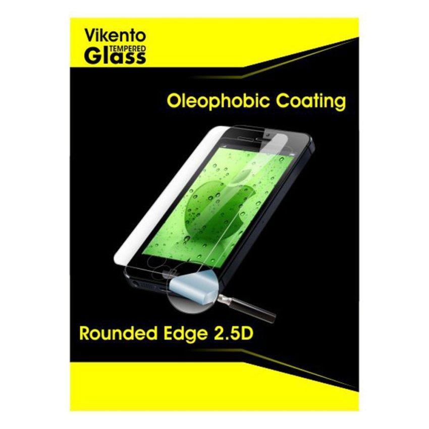 Vikento Tempered Glass Untuk Sony Xperia Z3 Mini Depan dan Belakang - Premium Tempered Glass