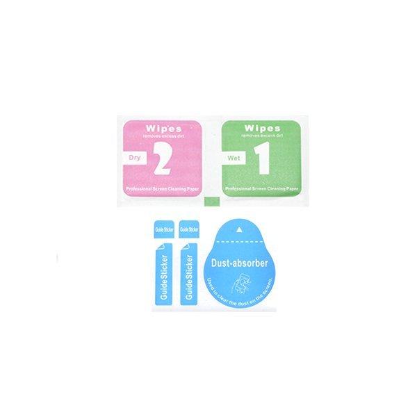 Violet Anti Gores / Screen Guard Tempered Glass untuk Apple iPhone 4 / 4s