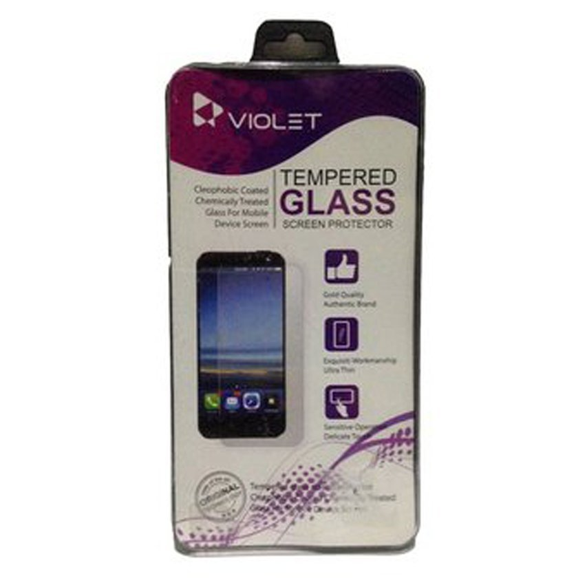 Violet Tempered Glass Samsung Galaxy Note 2 Clear