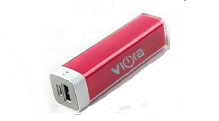 Viora Powerbank - 3000mAh - Merah Muda
