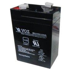 VOZ TF6-4 - Aki Kering 6V 4.5 Ah - VRLA Battery - Abu-abu