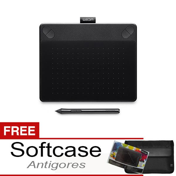 Wacom Intuos Photo CTH-490 Pen & touch Small Black + Gratis Softcase & Antigores