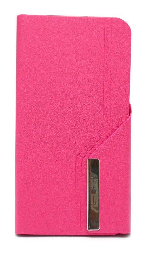 Walet Flipcover Crystal for Asus Zenfone 5 - Merah Muda