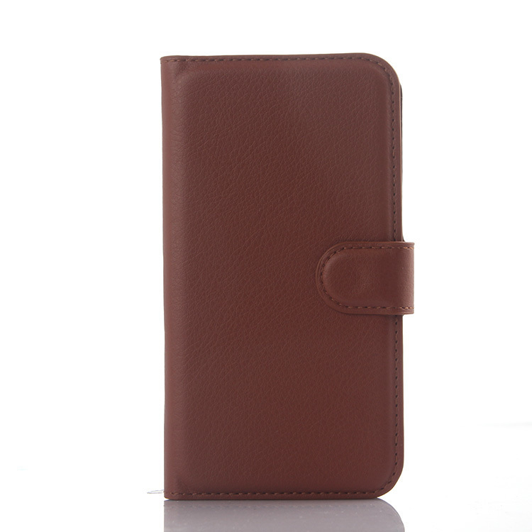 Wallet Flip Leather Case with Card Bag Holder for Huawei Ascend Y625 (Brown) (Intl)