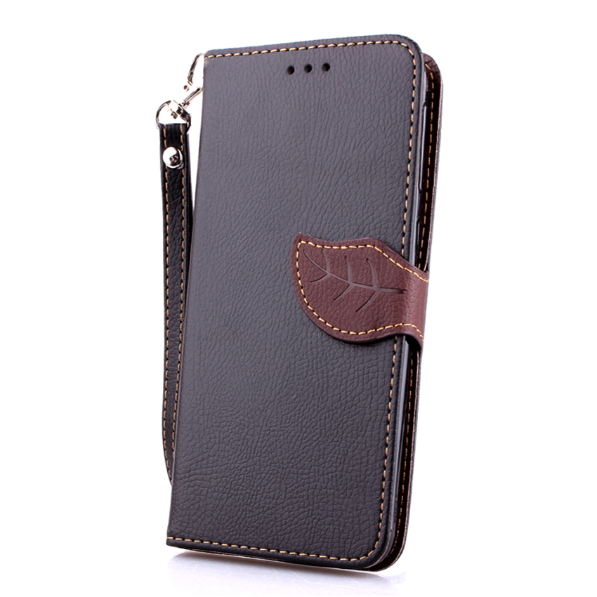 Wallet Flip Leather Cover for HTC Desire 820 (Black) (Intl)