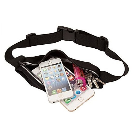 Waterproof Bag Sports Belt with Touchscreen for Smartphone 5.5 Inch - ZE-WP400 - Hitam