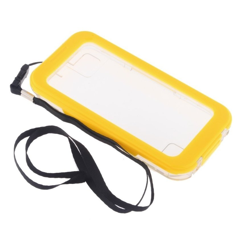 Waterproof Diving Dustproof Durable Hybrid Case Cover for Iphone4/4S/5/5S Yellow