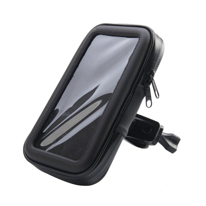 Waterproof Leather Case Mount Holder (Black)