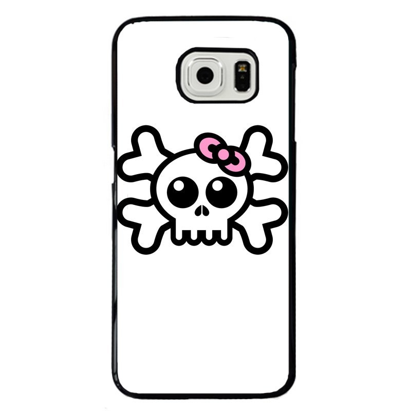 Wear Bowknot Skeleton Painting Phone Case for Samsung Galaxy S5 E5000 (Multicolor)