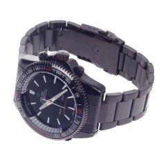 WEIDE WH-903 Men's Quartz & LED Dual Time Display Sport Wrist Watch - Black (1 X CR2016)