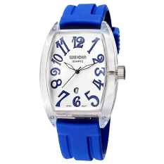 WEIQIN Men's Fashion Silicone Watchband Sport Watches Quartz Movement 394103 (Blue) - Intl