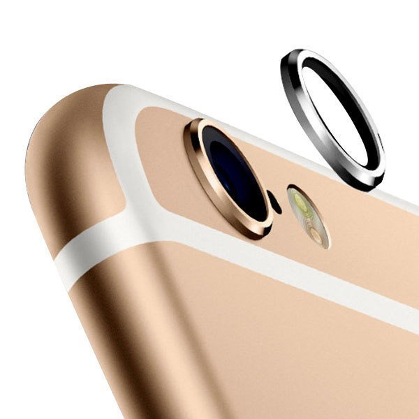 Wellcomm Plus Lens Protector for iPhone 6 Plus - Gold