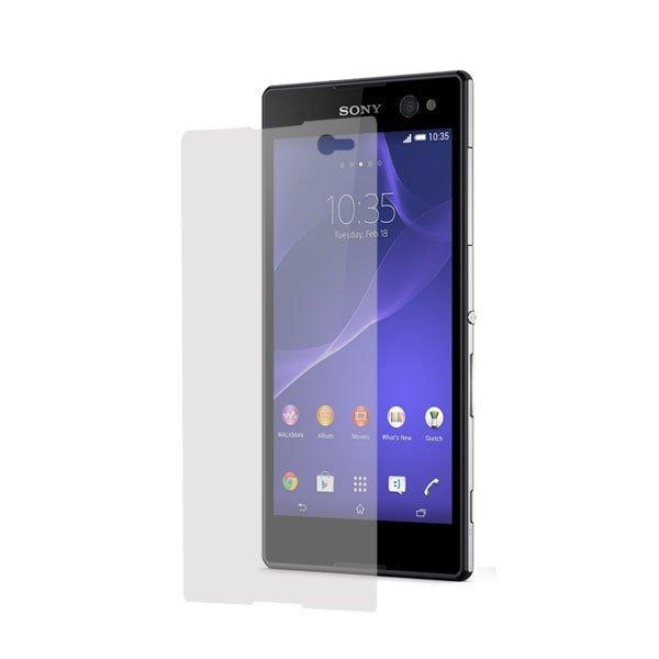 Wellcomm Screen Protector Easy Wipe Sony Xperia C3