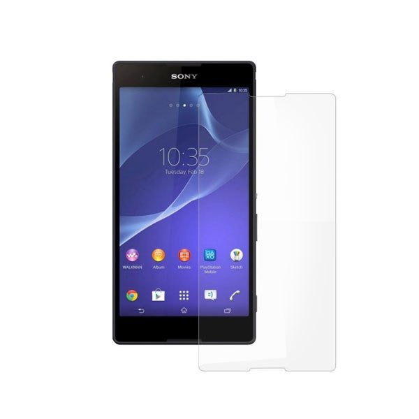 Wellcomm Screen Protector Easy Wipe Sony Xperia T2 Ultra