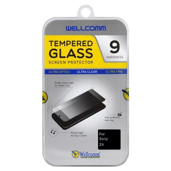 Wellcomm Screen Protector Tempered Transparant Sony Xperia Z4