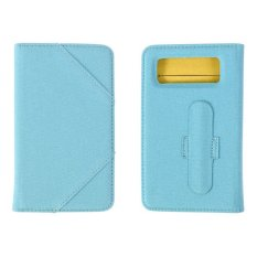 Wellcomm Stand Universal Case 5 Inches - Biru