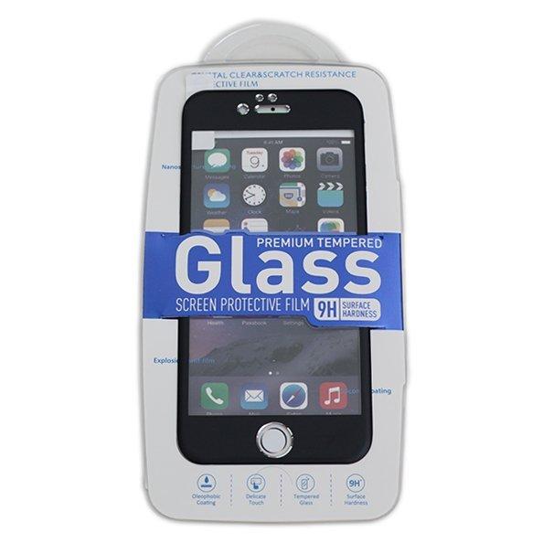 Welove Apple Tempered Glass iPhone 6 dengan Frame - Hitam