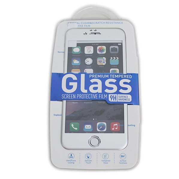 Welove Apple Tempered Glass iPhone 6 dengan Frame - Silver