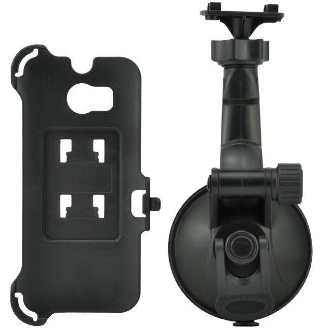 Windshield suction car holder Windscreen Phone Mount for HTC One 2 M8 Black (Intl)