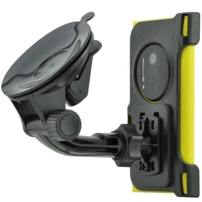 Windshield suction car holder Windscreen Phone Mount for Nokia Lumia 1020 Black (Intl)
