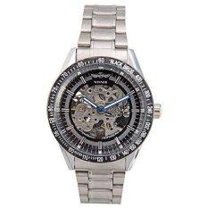 WINNER Winner Automatic Mechanical Skeleton Mens Boy Gift Stainless Steel Wrist Watch