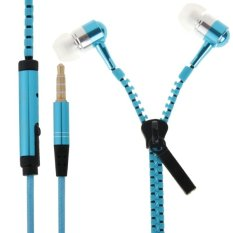 Wired Stereo Bass 3.5mm In-Ear Headphones (Blue) (Intl)