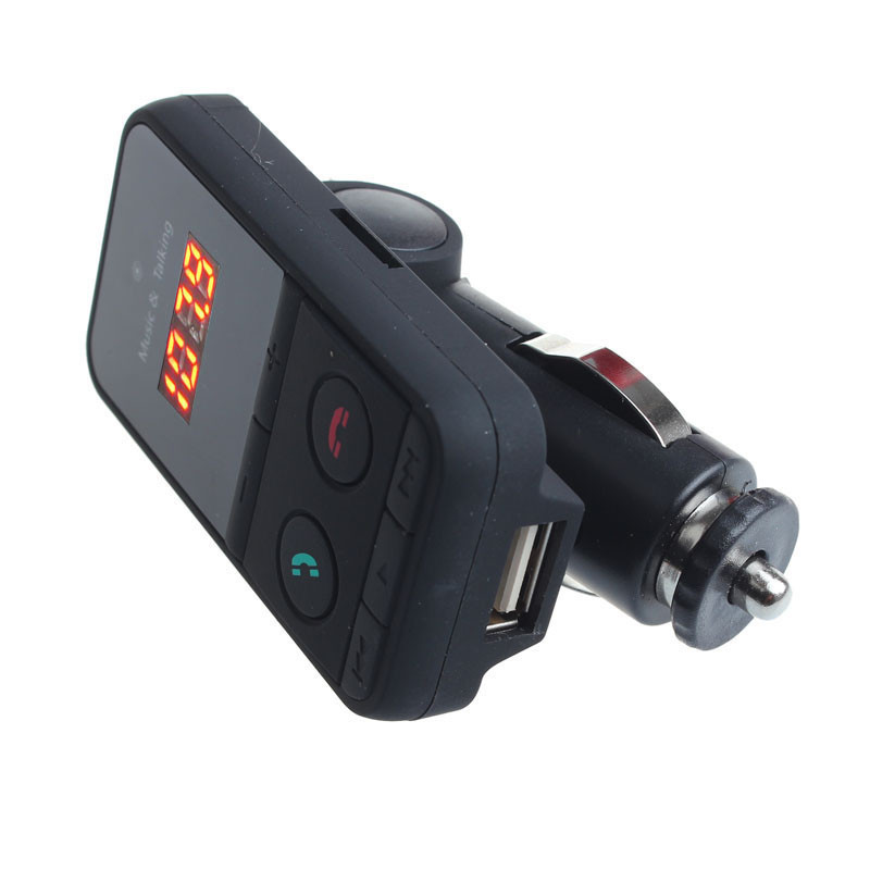 Wireless Bluetooth FM Transmitter Modulator Car Kit MP3 Player SD USB LCD (Intl)