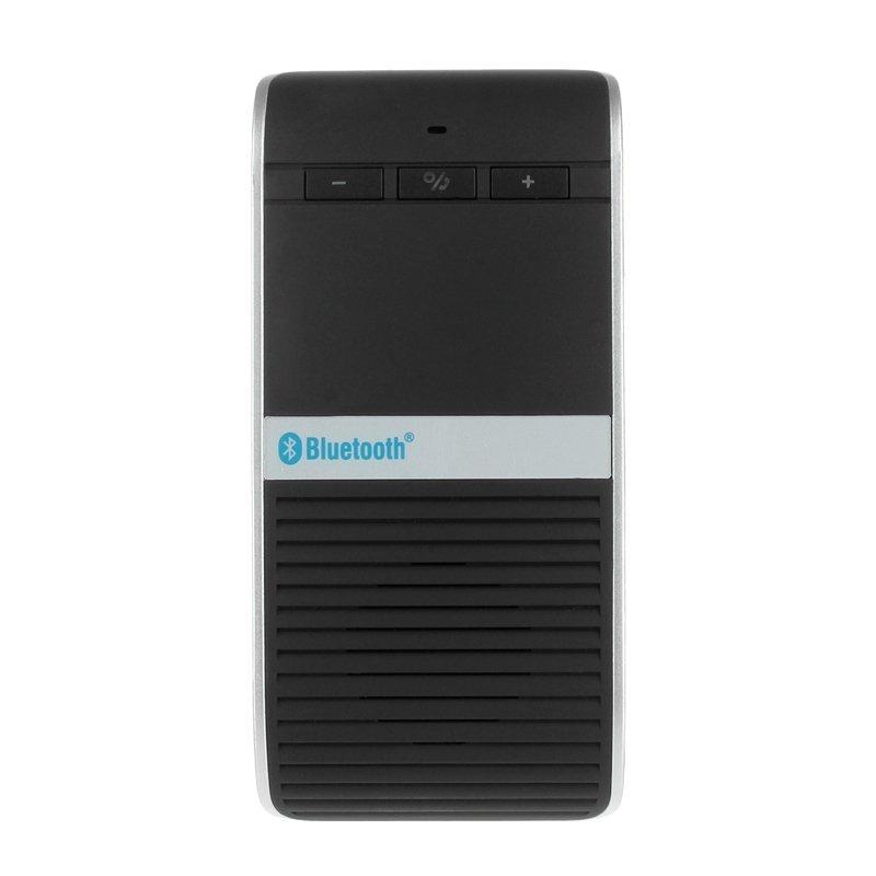 Wireless Solar Powered In-car Handsfree Bluetooth V4.0+EDR Speakerphone Car Kit