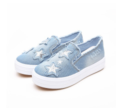 Women Shoes 2016 Spring Summer Women Casual Shoes Fashion Canvas Shoes Breathable Solid Color Flat With Shoes - Intl