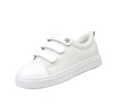 Women Shoes Lace Up Casual Canvas Shoes Women Platform Spring Summer White Shoes - Intl